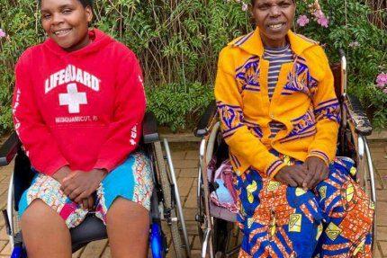 Podopieczni hospicjum w Rwandzie