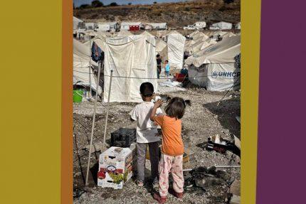 Dzieci w obozie Moria 2.0