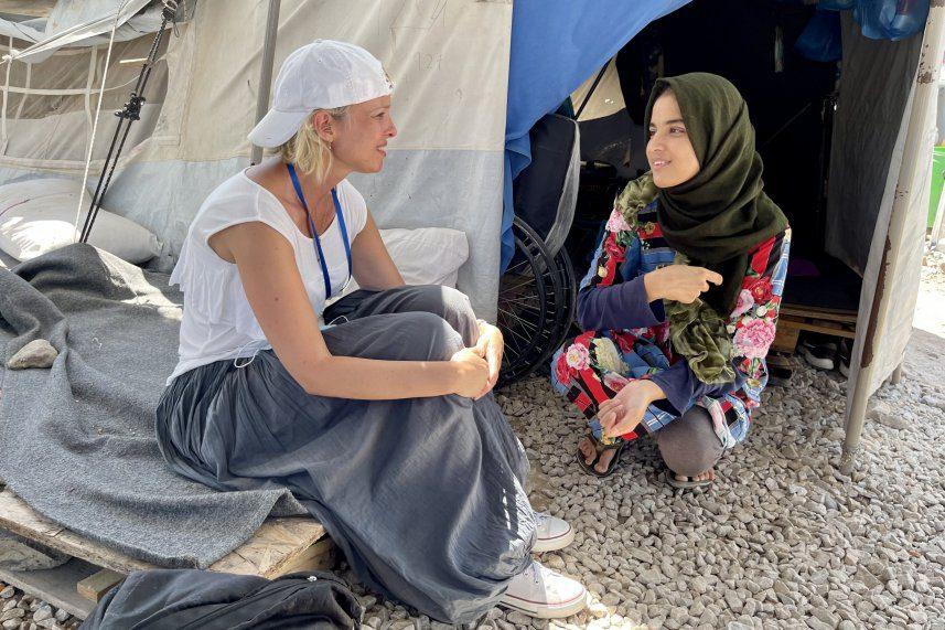 Na Lesvos leczymy nie tylko ciała, ale także dusze uchodźców