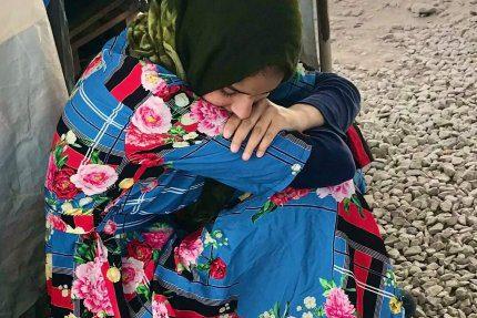 Uchodźcy na Lesvos czekający na naszą pomoc