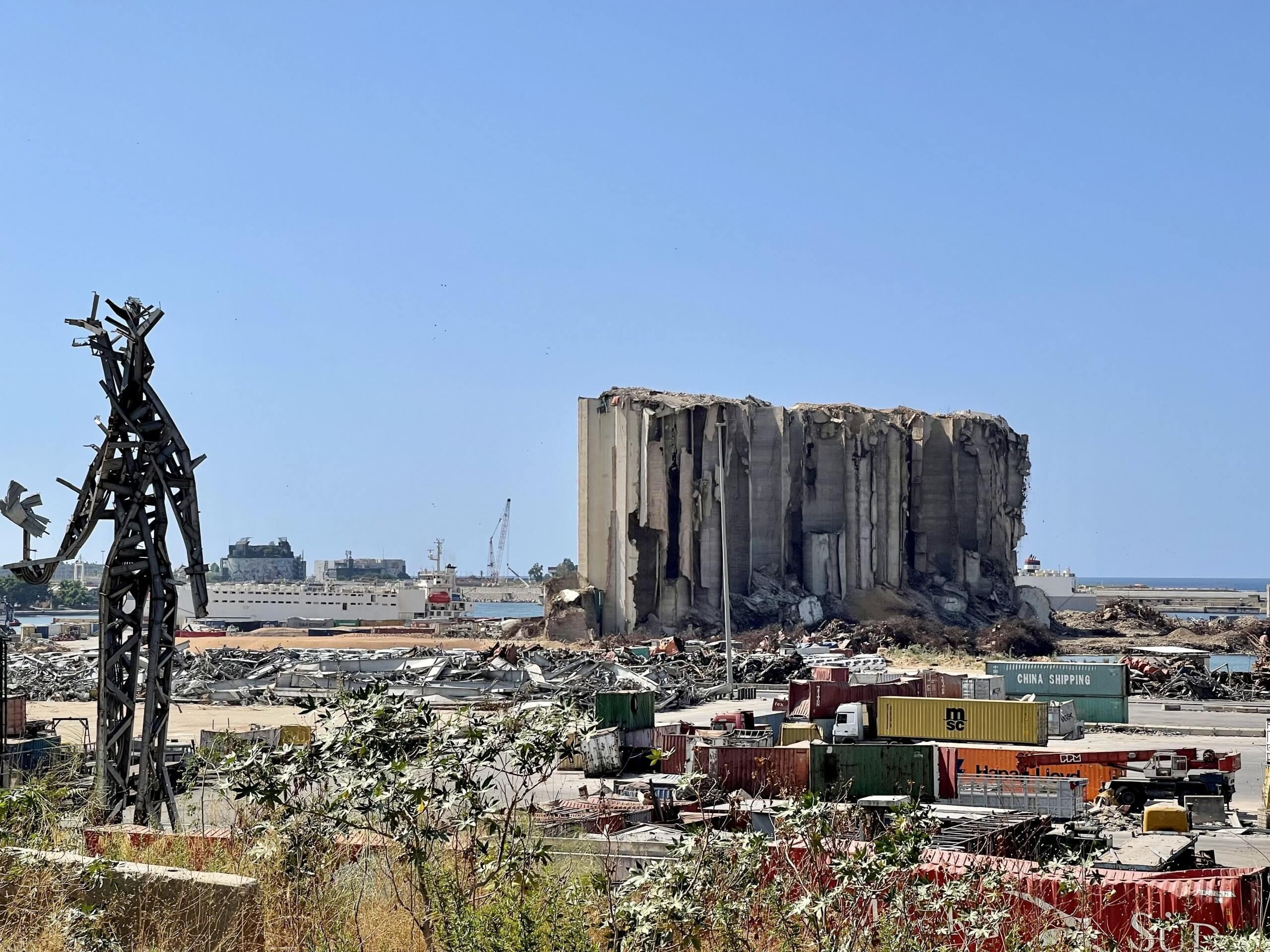 Liban po wybuchu w Bejrucie w roku 2021